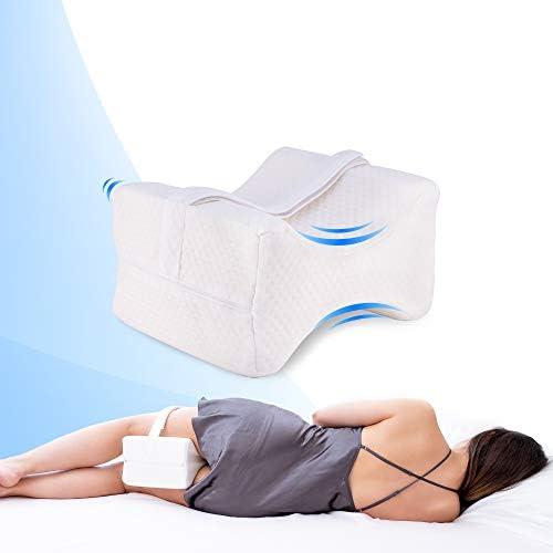 Sponsi Cuscino per Gambe in Pelle per Auto Cuscino per Ginocchio Cuscino per Coscia Supporto Accessori Interni