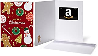 Amazon.com $25 Gift Card in a Greeting Card (Christmas Cookies) (B01I4ADJVY) | Amazon price tracker / tracking, Amazon price history charts, Amazon price watches, Amazon price drop alerts