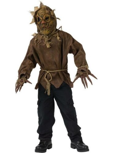 [Evil Scarecrow Costume - Large] (Scary Scarecrow Halloween Costumes)