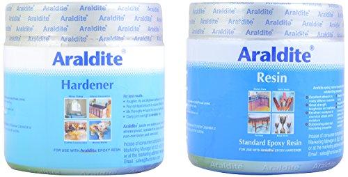 Araldite Standard Epoxy Resin 450g (250g Epoxy Resin + 200g Hardener)