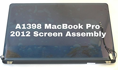 LCD LED Display Screen Assembly for Apple MacBook Pro Retina Display 15'' Model A1398. (Mid 2012 Early 2013) by Apple