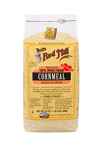 (Bob's Red Mill Cornmeal Medium, 24 Ounce (Pack of 4))