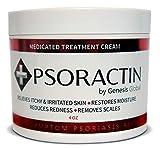 Psoractin Cream for Psoriasis Treatment - Organic Formula Provides Instant Relief, Moisture,