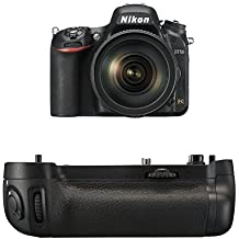 Nikon D750 FX-Format Digital SLR Camera w/24-120mm Lens + Nikon MB-D16 Battery