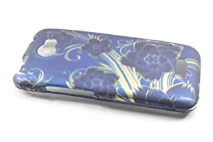 HTC One X / Elite Hard Case Cover for Royal Flowers