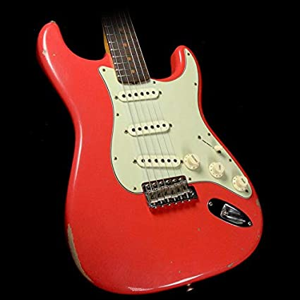 Amazon com: Fender Custom Shop 1960 Relic Stratocaster