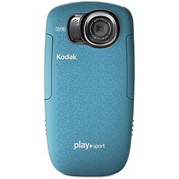 Kodak PlaySport (Zx5) HD Waterproof Pocket Video Camera - Aqua (2nd Generation)