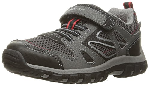 (Stride Rite Made 2 Play Artin Running Shoe, Grey, 1 M US Little Kid)