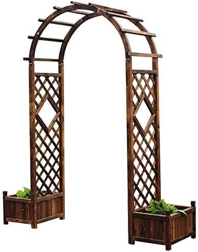 HLZY Muebles de jardín Arco Decoración Jardín Arbor, Jardín ...