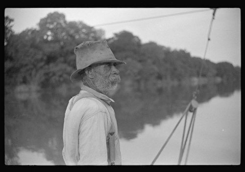 Best buy 1939 Photo Negro almost eighty, who has been running ferry across river from Camden Gee'
