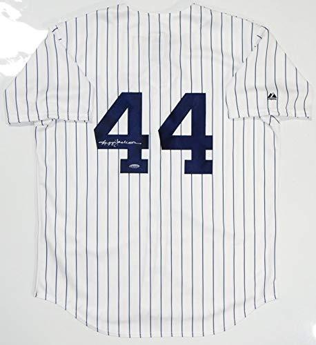 the best attitude 9e583 70d8d Reggie Jackson Autographed P/S New York Yankees Jersey (Size ...