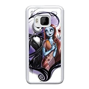 HTC One M9 Cell Phone Case White Sally Jack Nightmare Before Christmas YT3RN2527036