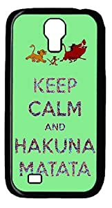 CreateDesigned Phone Cases Hakuna Matata Cover Case for Samsung Galaxy S4 I9500 S4CD00122