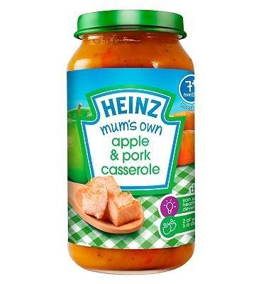 Heinz 7+ Months Mashed Mum's Own Apple & Pork Casserole 200g by Heinz