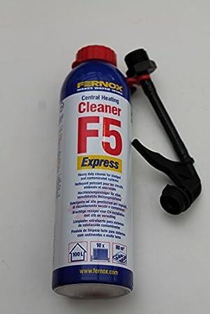 Fernox Cleaner F5 Express 280 ml Radiador limpiador aerosol 100 ml/17,82 & # x20ac;: Amazon.es: Bricolaje y herramientas