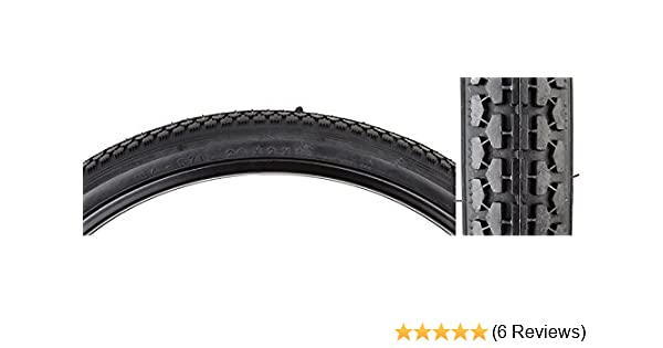 Sunlite Tire 26X2X1-3//4 S7 Cst241 Black//Black