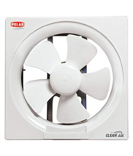 Polar Clean Air Passion Plastic Exhaust Fan (200mm, White)
