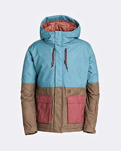 Billabong Men's Fifty 50 Insulated Snow Jacket, Arctic M