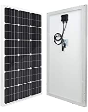 ECO-WORTHY 100 Watt 12 Volt Monocrystalline Solar Panel (100W Compact Design)