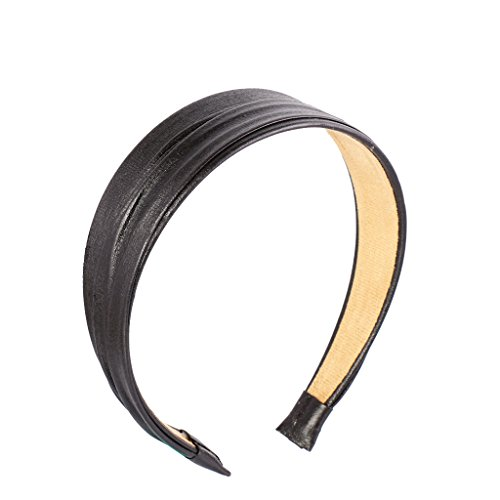 Vintage Artificial Leather Headband Accessories