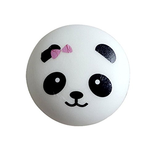 Messagee 1pc Random Panda Slow Rising Squishy Scented Toy Decorative Props Mobile Phone Pendant for Kids