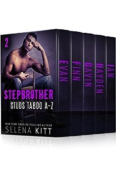 Stepbrother Studs: Taboo A-Z Boxed Set Volume 2: A Stepbrother Romance Bundle (Stepbrother Studs Boxed Sets) by [Kitt, Selena]