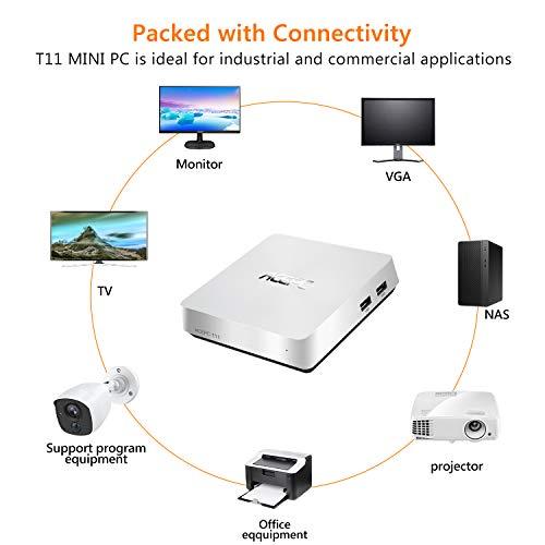ACEPC T11 Mini PC,Windows 10 Pro Intel Atom x5-Z8350 Fanless