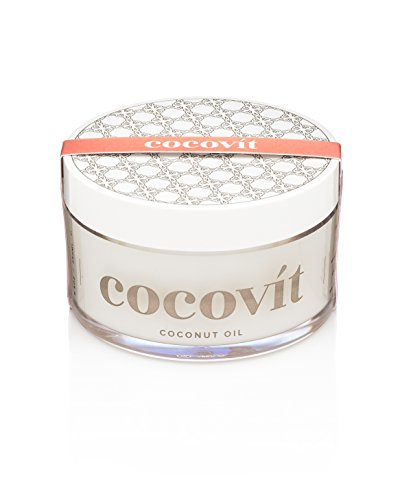 Cocovit - 100% Organic & Raw Coconut Oil for Skin & Hair (8.8oz)