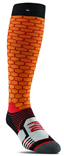 ThirtyTwo Elite ASI Snowboard Sock Mens Orange 2019 (L/XL) (Best Mens Snowboard Pants 2019)