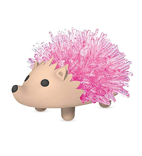 HearthSong® Crystal Hedgehog - Cherry Pink