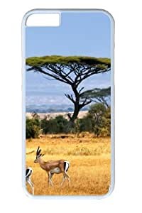Antelopes Custom iphone 6 plus 5.5 inch Case Cover Polycarbonate White