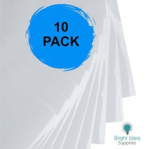 "BRIGHT IDEA Heat Transfer Vinyl HTV Bundle 12""x10""- 10 Pack"