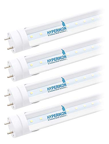 Hyperikon 3 Foot, 40 Watt (14W) Clear Cover, T8 T10 T12 Tube Lighting, 4000k Daylight, F30T12 Fluorescent Replacement (4 Pack)