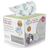 Kalencom Potette Plus Potty Seat Liners with Magic Disappearing Ink Value Box - 90 Liners: more info