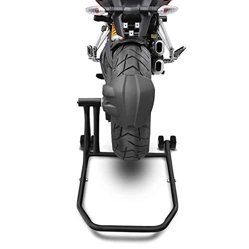 Caballete Trasero Ducati Multistrada 1260 Pikes Peak 2018 Negro Mate ConStands Single por Basculante Monobrazo adaptadore Incl.