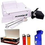 PowerRoll 2 Bundle Cigarette Tobacco Machine - RYO Power Roll King Size & 100MM