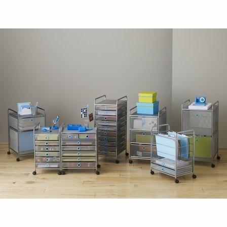 Design Ideas Digit File Cabinet, Blue by Design Ideas