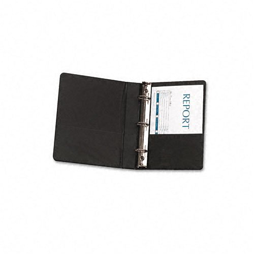 Avery : Durable EZ-Turn Ring Reference Binder, 8-1/2 x 5-1/2, 1in Cap, Black -:- Sold as 2 Packs of - 1 - / - Total of 2 Each