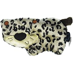 TrustyPup Tough 'n Fun Safari Cookie Cutters Leopard Durable Dog Toy