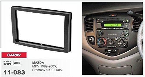 Carav 11-083 fa/çade dautoradio Double dIN pour Mazda premacy mPV