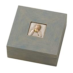 Willow Tree Heart of Gold Memory Box