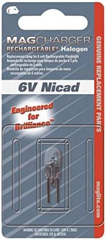 Maglite LR00001 MAGCHARGER 6 V NiCd remplacement recharge lampe de poche Ampoule Halogène