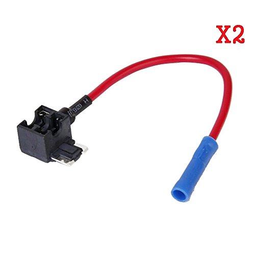 PITTASOFT BLACKVUE 2PCS Low-Profile Mini Fuse TAP + 5AMP Fuse for BLACKVUE ONLY Power Magic PRO / DR530W-2CH / DR550GW-2CH / DR600GW / DR650GW-2CH / DR650S-1CH / DR650S-2CH