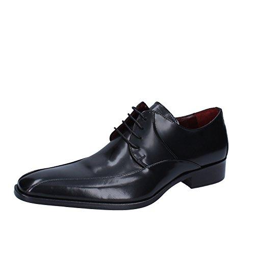 Carlo Pignatelli Zapatos Hombre Negro Cuero AP213 (43 EU)