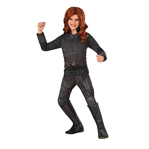 Rubie's Costume Captain America: Civil War Black Widow Child Costume, Large  ()