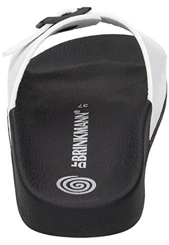 Dr. Brinkmann Pantolette Bianco 701197-3 Nero