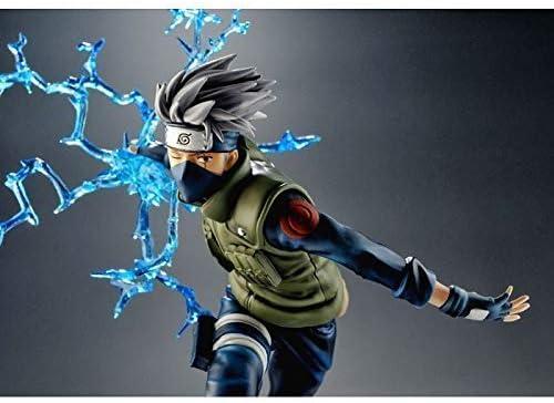Naruto Run Kakashi Model Realistische Standbeeld Doll Anime Decoration 22cm Peng Xping