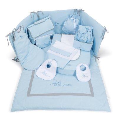 Conjunto de ropa de cuna y complementos hospital para el bebé Dulces Sueños de BebeDeParis en
