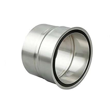 /Ø 300 mm Schiedel Prima Plus Doppelwandfutter f/ür Edelstahlrohr