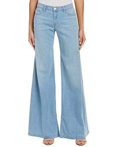 J Brand Women's Lynette Low Rise Super Wide Leg Jeans, Chase, 27